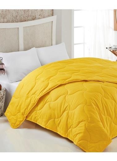 Komfort Home Renkli Çift Kişilik PolyCotton Yorgan 195x215 CM Renkli